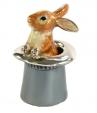 Заяц в шляпе серебро ST186-1