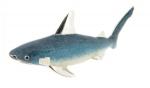 Акула серебро c эмалью ST231
