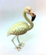 Фламинго малый серебро с эмалью ST374-2