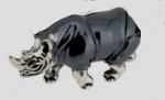 Носорог малый серебро ST342-3