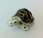 Черепаха средняя серебро с эмалью ST291-2