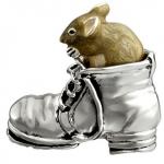 Мышь в ботинке средняя  ST184-2