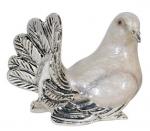 Голубь малый серебро с эмалью ST298-2