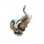 Слон малый серебро ST369-3