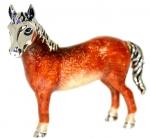 Лошадь большая серебро ST180-1