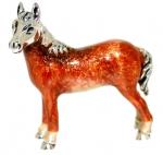 Лошадь малая серебро ST180-3