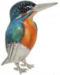 Зимородок большой (Рыбалочка) серебро ST304-1