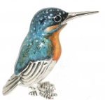 Зимородок малый (Рыбалочка)серебро ST304-3