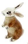 Заяц средний серебро ST196-2