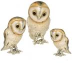 три совы серебро ST443