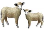 пара овец серебро ST311