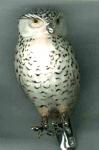 Статуэтка Сова из серебра ST631-1