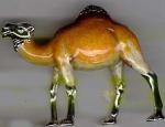 Верблюд Средний с эмалью ST317-2