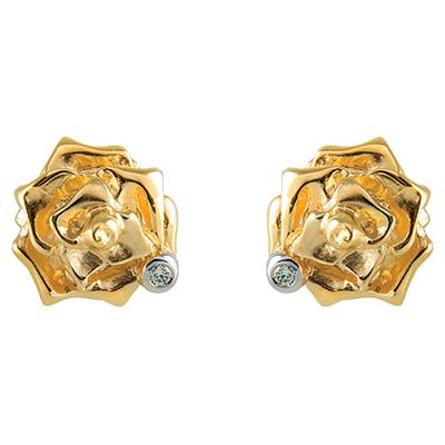 Серьги из золота ШАРМ С - 14053 (пусеты)