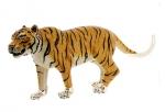 Тигр серебро ST633