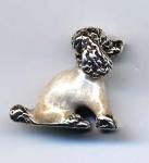 Пудель серебро ST494