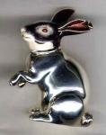 Заяц из серебра ST132-2