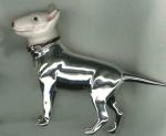 Собака породы Бультерьер серебро ST547-1