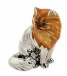 Кошка Персидская большая серебро ST250-1