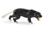 Пантера из серебра с эмалью ST667