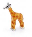 Жираф маленький серебро ST518