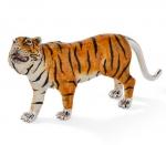 Тигр из серебра с эмалью ST696