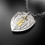 Серебряный амулет ГСН ВЫМПЕЛ (серебро 925 пробы)