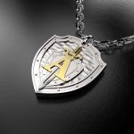 Серебряный амулет ЦСН АЛЬФА (серебро 925 пробы)