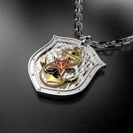Серебряный амулет ВМФ (серебро 925 пробы)
