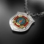Серебряный амулет Участник ликвидации последствий аварий (ЧАЭС)(