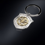 Серебряный брелок ВДВ РОССИИ (серебро 925 пробы)