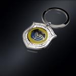 Серебряный брелок СПЕЦНАЗ ГРУ (серебро 925 пробы)