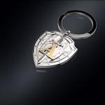 Серебряный брелок ЦСН АЛЬФА (серебро 925 пробы)