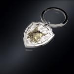 Серебряный брелок РЫСЬ(серебро 925 пробы)
