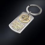 Серебряный брелок-жетон ВДВ РОССИИ (серебро 925 пробы)