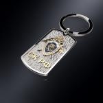 Серебряный брелок-жетон СК РОССИИ (серебро 925 пробы)
