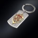 Серебряный брелок-жетон ФСБ РОССИИ (серебро 925 пробы)