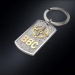 Серебряный брелок-жетон ВВС РОССИИ (серебро 925 пробы)