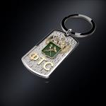 Серебряный брелок-жетон ФТС РОССИИ (серебро 925 пробы)