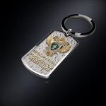 Серебряный брелок-жетон Прокуратура РОССИИ (серебро 925 пробы)