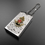 Серебряная флешка ВМФ