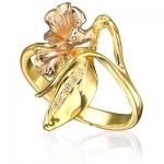 Золотое кольцо с бриллиантами ГОРНАЯ ЛАВАНДА К-14027