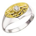 Мужское кольцо из золота АНТИК К-34004