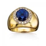 Мужское кольцо из золота ПРЕМЬЕР К-34302к