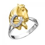 Золотое кольцо с бриллиантами СТЕПНАЯ СИМФОНИЯ К - 24035 н