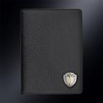 Кожаная обложка для паспорта ГСН Вымпел