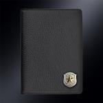 Кожаная обложка для паспорта Cухопутные войска МО,Погранвойска К