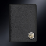 Кожаная обложка для паспорта РВСН РОССИИ