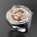 Серебряный перстень ВИТЯЗЬ (серебро 925 пробы)