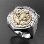 Серебряный перстень ВДВ РОССИИ (серебро 925 пробы)